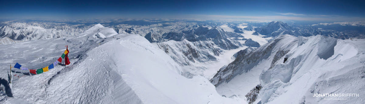 Summit Panorama from Denali