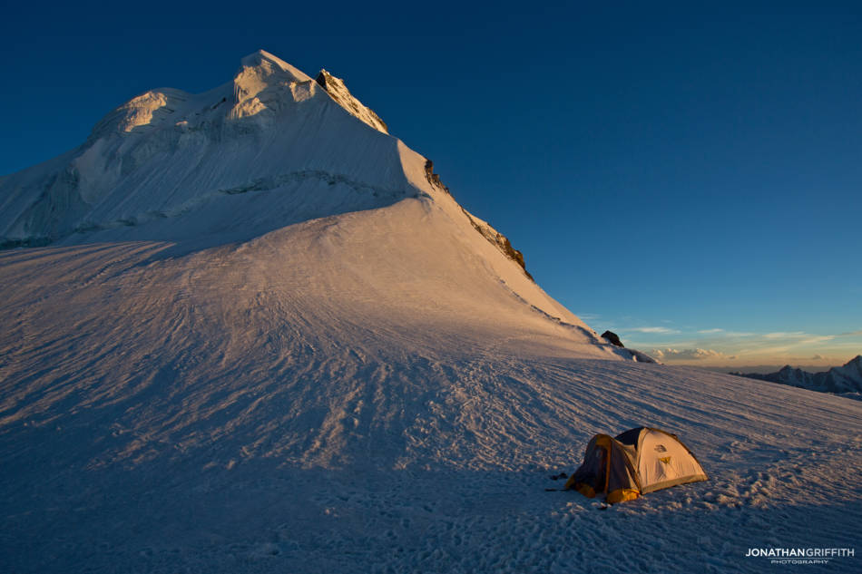 5 star bivy spot beneath the N ridge of Drifika