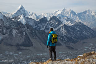 Myself and Ama Dablam whilst acclimatising