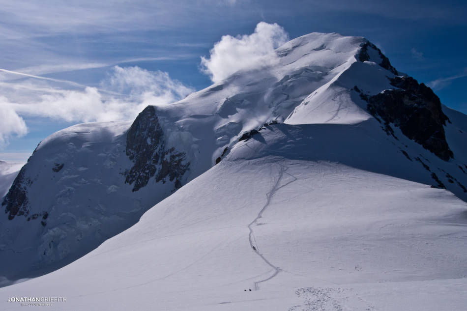 The Gouter route up Mont Blanc- a hellish nightmare
