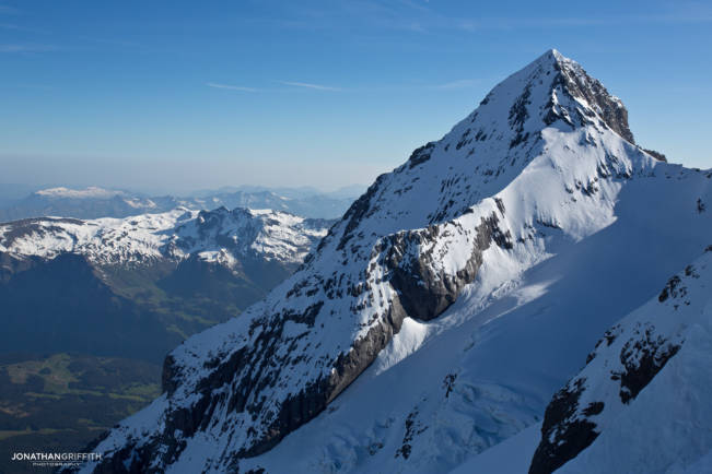The West Flank of the Eiger