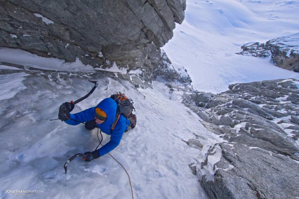Woohoo alpine ice!