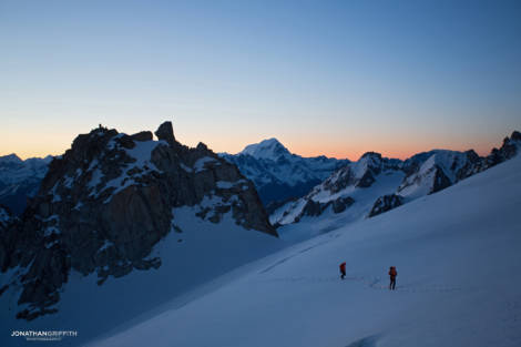 Heading in to the Chardonnet