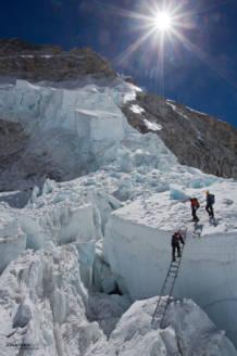 The Khumbu Icefall