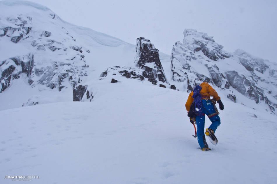 Heading over towards Pygmy Ridge