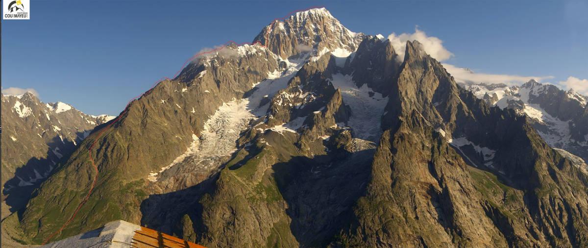 The line of the Brouillard Ridge Integral