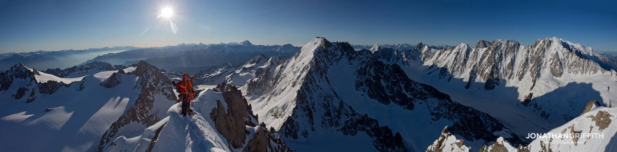 Summit of the Chardonnet