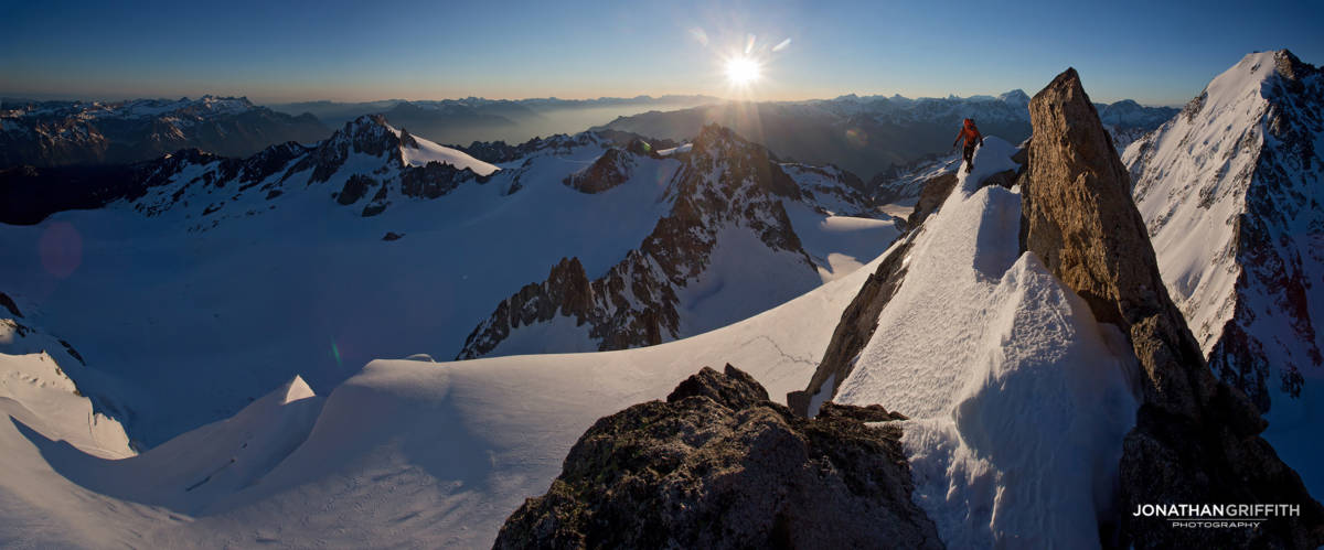 High up on the Chardonnet