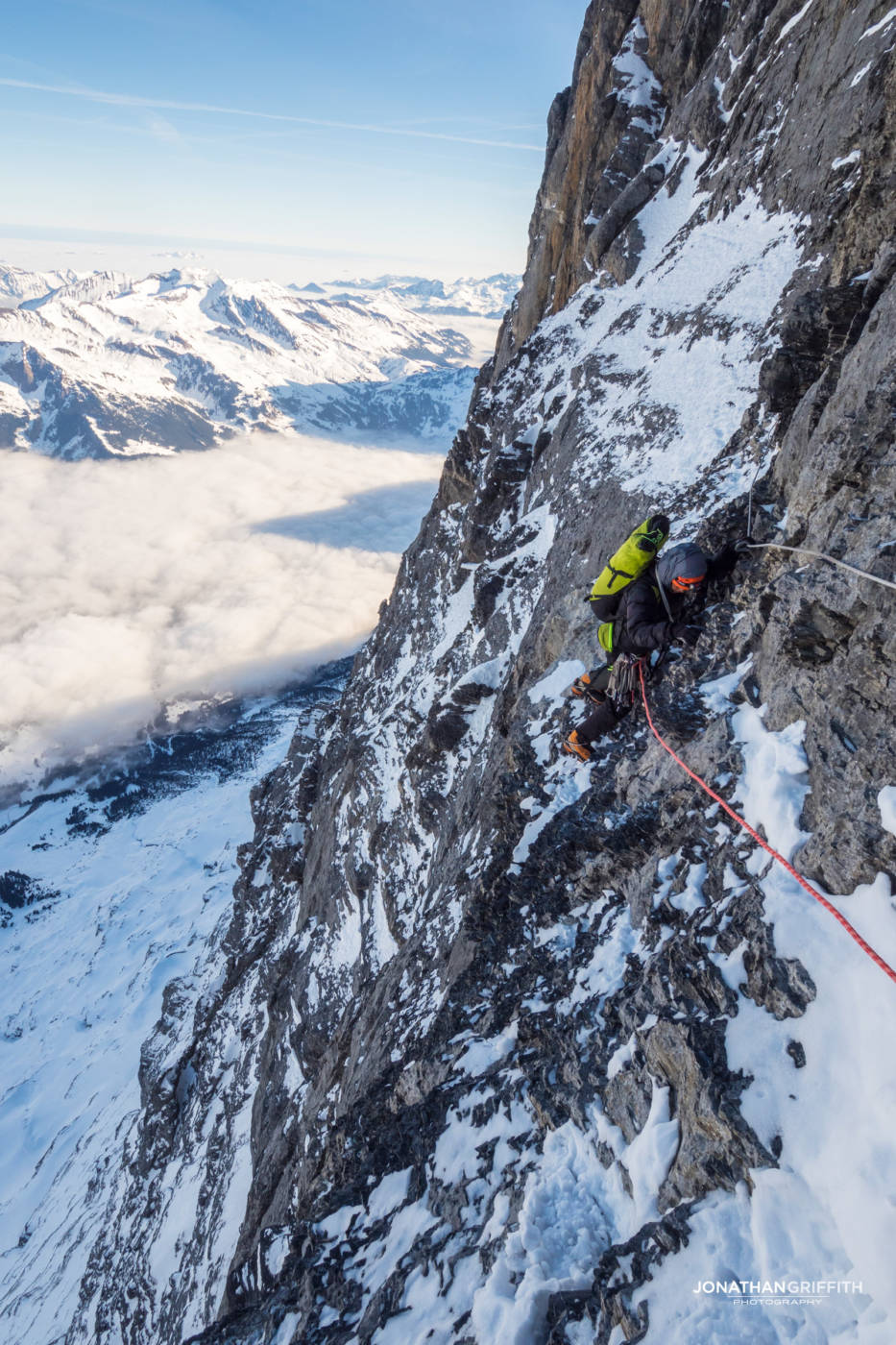North West Pictures Instagram Eiger - 1938 Route Nor...