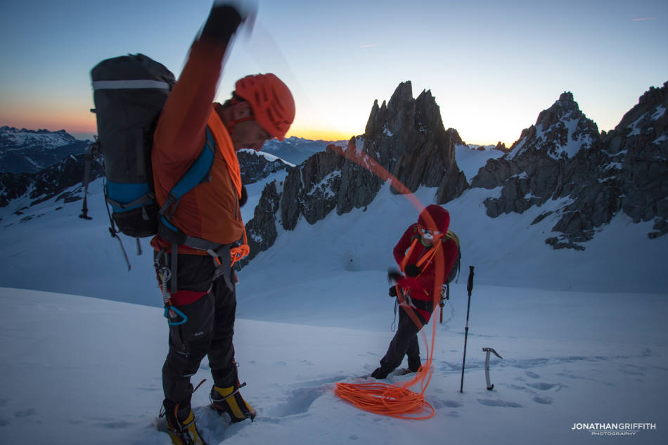 Dawn on the Chardonnet