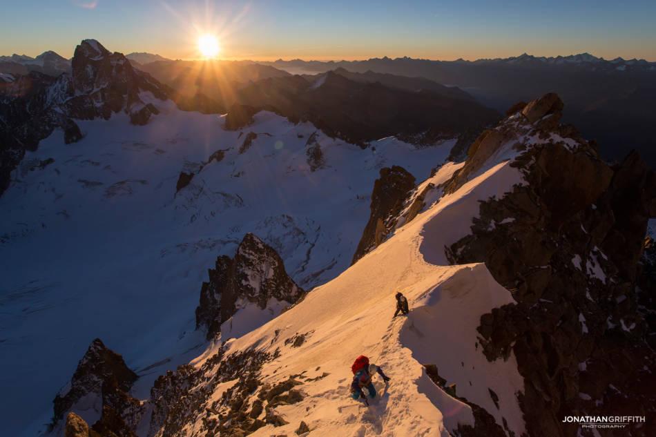 Sunrise on the ridge
