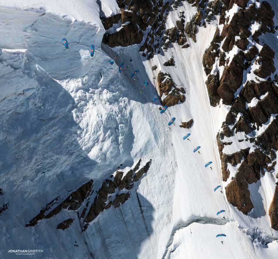Tricks and seracs on the Breithorn North Face